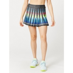 LUCKY IN LOVE Squared Up Pleated Skirt