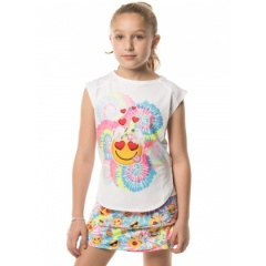 LUCKY IN LOVE Groovy Smile Tank